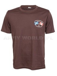 Thermoactive T-shirt Coolmax With Print ACF Brown Original Used