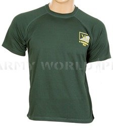 Thermoactive T-shirt Coolmax With Sign VI 6 Regiment RLC Dark Green Used