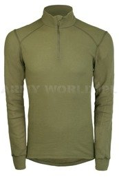 Thermoactive Tricot Blouse ODLO Olive Original New