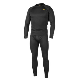 Thermoactive underwear  Level 1  III Gen. Helikon  black - set -  shirt + drawers