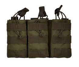 Triple Mag Pouch Texar Olive New