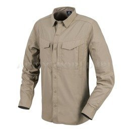 Tropical Tactical Shirt Defender Mk2 Long Sleeves Helikon-Tex Silver Mink