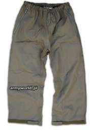 Trousers Gore-tex Bundeswehr To Waist Oliv Original Used II Quality