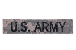 US Army Badge UCP Military Surplus Used