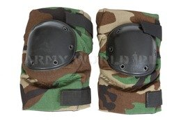 US Army Knee Protectors Woodland Genuine Military Surplus New