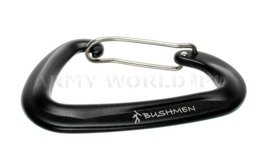 Ultralight Carabiner Bushmen Black New