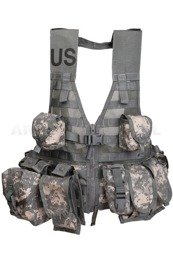 Us Army Modular Tactical Vest FLC US Army UCP + 9 Pouches Genuine Military Surplus Used