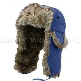 Ushanka Cap AKTSE Satila Blue New