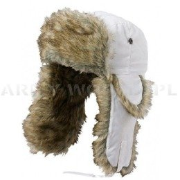 Ushanka Cap AKTSE Satila White New