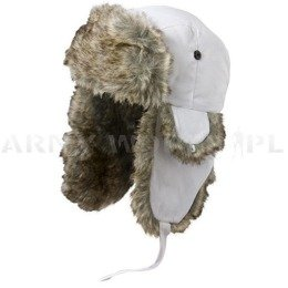 Ushanka Cap JOEL Satila White New