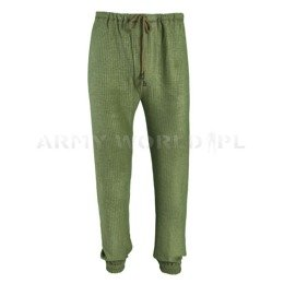 Warmer Pants Under The Coveralls  635/MON Olive Military Surplus Used