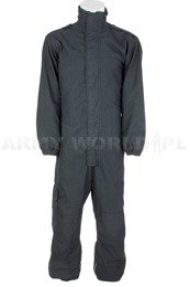 Waterproof Coverall Gore-tex Flame Resistant With Zippers Navy Blue Used