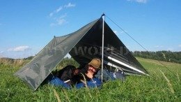 Waterproof Rescue Tarpaulin With Thermo Insulation Thermo-Tarp 3 x 3m Bushmen New Bigger Version Olive New
