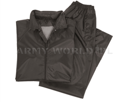 Waterproof Set (Jacket + Pants)  Mil-Tec Black New