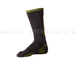Waterproof Socks SEALSKINZ Olive Green Original New