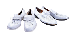 White Gala Shoes Bundeswehr Original Demobil Dark Soles