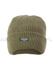 Winter Cap Warmed Thinsulate Black / Oliv New