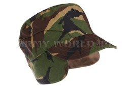 Winter Dutch Army Patrol Cap DPM Genuine Army Surplus New