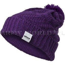 Winter Hat  DEVICE Satila Purple New