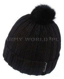 Winter Hat GISELE Neverland Black New