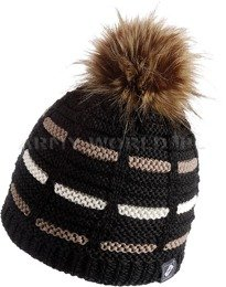 Winter Hat VIERA Neverland Black New