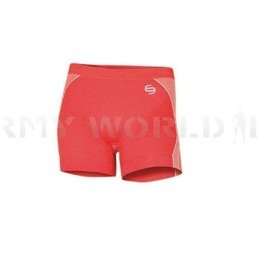 Women's Boxer Shorts Fit Balance Brubeck Red New
