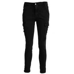 Women's Cargo Pants Black New