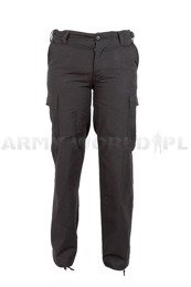 Women's Cargo Pants Model US Ripstop Black Mil-tec New