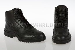 Women's French Police Shoes MID Gore-tex Haix Black New II Quality