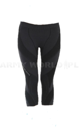 Women's Pants 3/4 Extreme Merino Brubeck Black New