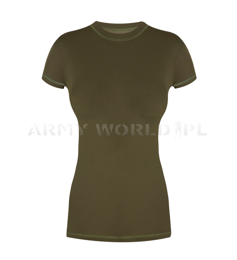 Women's Thermoactive Short-sleeved Shirt MAL Stoor Olive Green New