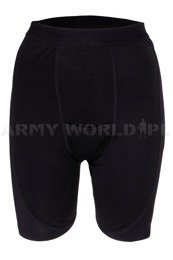 Women's Tight-fitting Drawers Pelvic Protection Anti-Microbial Black Military Surplus New