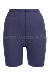 Women's sport thermoactive boxer shorts ODLO WARM Dark blue - Original - New