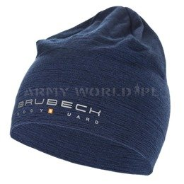 Wool Hat Merino Wool Brubeck Navy Blue New