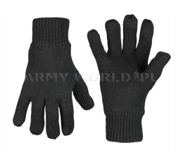 Woolen Gloves Thinsulate  Mil-tec Black New