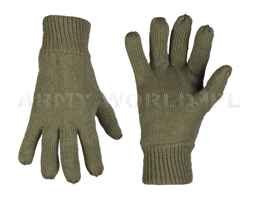 Woolen Gloves Thinsulate  Mil-tec Olive New