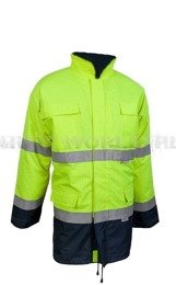 Working Jacket Planam High-Visibility Used Good Condition