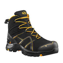 Workwear Boots Haix ® BLACK EAGLE Safety 40 Mid Gore-tex  Black/Orange New