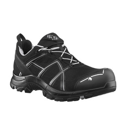 Workwear Boots Haix ® BLACK EAGLE Safety 41 Low Black/Silver New