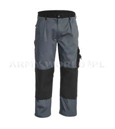 Workwear Pants Engelbert Strauss Image Grey Original Used II Quality