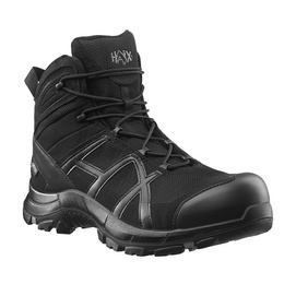 Workwear Shoes Haix Black Eagle Safety 40 Mid Gore-Tex Black New II Quality