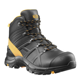Workwear Shoes Haix Black Eagle Safety Shoes 54 Mid Gore-Tex Black-Orange New II Quality