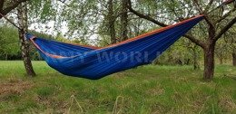 Zen Hammock + Ultralight Carabiners Bushmen Blue-Orange New