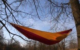 Zen Hammock + Ultralight Carabiners Bushmen Sand-Red New