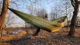 Zen Ultralight Hammock Bushmen Olive New