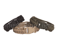 wristband PARACORD Mil-tec Black New