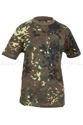 Cildrens T-shirt Flecktarn Military T-shirt Short Sleeves Mil-tec New