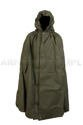 Polish Army Lavvu Poncho Shelter Olive Original Used