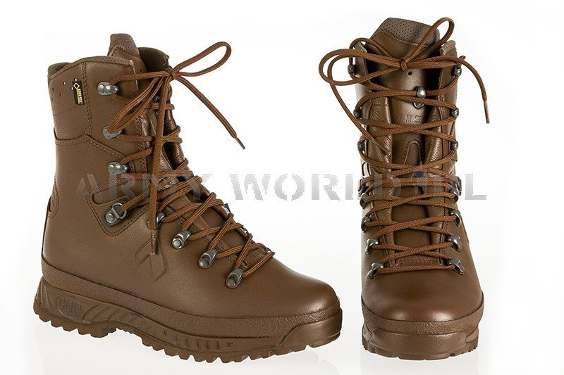723a4a807cb7e4 HAIX Boots Cold Weather Brown - British Winter Military Shoes Goretex New  II Quality Art. ...