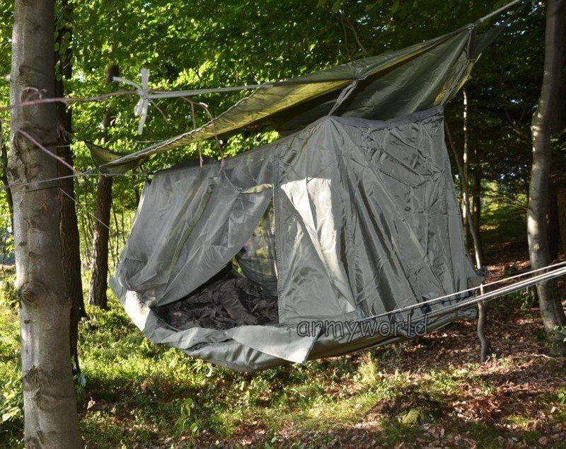 Hammock Jungle Us Army Military With Mosquito Net And